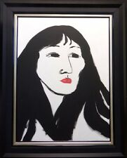 "R C Gorman "" Yoko"" Rare Original Oil Painting on Canvas Art  OFFERS WELCOME"