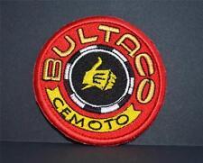 "Insignia de tela bordado - ""BULTACO"" Motocicletas"