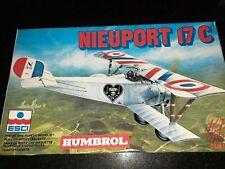 Classic Esci 1/72nd scale Nieuport 17C model kit