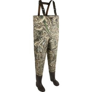 New Allen Company Adults Ridgeway Realtree Max-5 2 ply Boot-Foot Wader Size 8