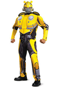 Transformers Bumblebee Movie Classic Muscle Adult Costume