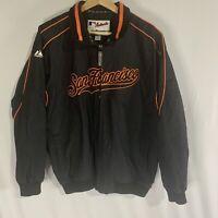 Vintage Majestic MLB Authentic San Francisco Giants Sewn Jacket Sz XL