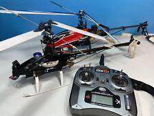 Large lot RC Helicopters and parts E-flite, ZD, Blade, Spektrum Read Description