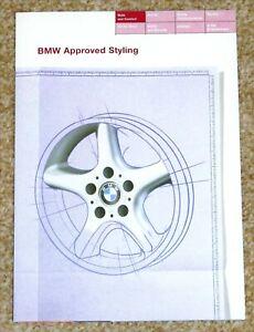 1995 BMW ALLOY WHEELS Sales Brochure - 3 Series, 5 Series, 7 Series, 8 Series