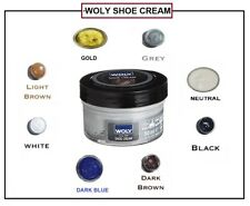 Woly Shoe Creams Polish Leather Bag Boot Shoe Care 50ml Restoration Conditioner