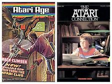 All Issues of Atari Age & Atari Connection Magazine on Disc (Old Gamer Magazine)