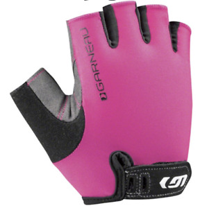 New Womens Louis Garneau Cycling Gloves Calgory 1481133 096 Pink Size Small