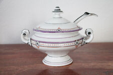 19th Century Antique Continental Porcelain Sauce Tureen