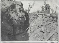 1. Weltkrieg: Militärseelsorger an der Front. Orig-Pressephoto um 1916