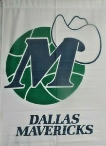 "Wholesale Lot: -12 NBA Dallas Mavericks 29"" x41"" Large Flags $5 Each"