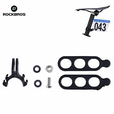 ROCKBROS Road Bike Triathlon Race Number Plate Mount Holder Plate Holder Bracket