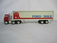 Winross Election '76 Ford Dole Republican Presidential Cargo Truck