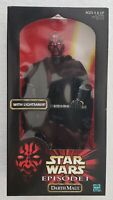 "STAR WARS EPISODE I DARTH MAUL WITH DOUBLE-BLADED LIGHTSABER 12"" ACTION FIGURE"