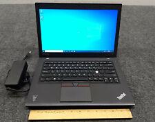 """Lenovo ThinkPad T450 14"""" Laptop Core i5-5300U, 4 GB RAM, 128 GB SSD w/Adapter"""