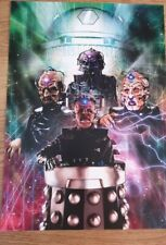 Doctor who A3 poster daleks and davros