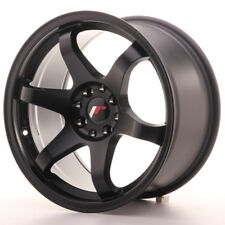 "Un Cerchio in Lega Japan Racing JR3 17"" x 9"" ET 35 5 x 100 / 114 Nero Opaco matt"
