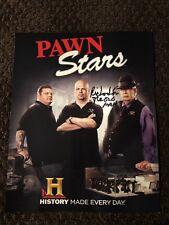Richard Harrison Sr. The Old Man Signed 8x10 Print Pawn Stars