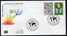 United Nations 1980 - Wien - 35th Anniversary of the United Nation - FDC