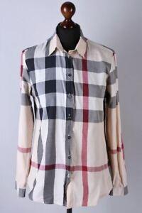 Burberry Brit Classic Long Sleeve Nova Check Shirt Size S