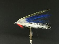 MAB Lures Flies Streamer Tandem Custom Blue Shiner Version 2 (Trout,Bass)