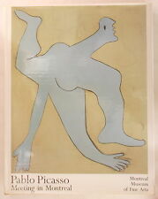 PABLO PICASSO: MEETING IN MONTREAL Museum of Fine Arts COLOR PRINTS