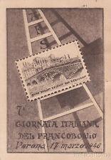 * VERONA - 7a Giornata Italiana del Francobollo 1946