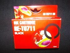Compatible 711 black  inkjet cartridge Epson SX205, SX210,SX215,SX400