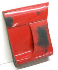 1987-93 Mustang GT front L/H fender body molding used E7ZB-16A169-BWC (red)