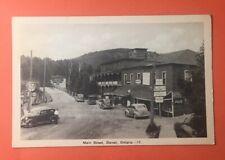 ZM 369 Main Street Dorset Ontario Canada Gas Station Coca Cola PM