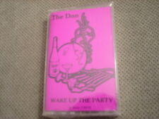 SEALED RARE ADV PROMO The Don CASSETTE TAPE Wake Up the Party TED NUGENT hip hop