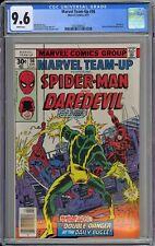 Marvel Team-Up #56 CGC 9.6 NM+ Wp Marvel Comics 1977 Spider-Man & Daredevil