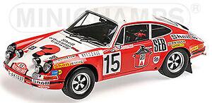 Porsche 911 S Rallye Monte Carlo 1972 #15 Waldegard 1:18 Minichamps