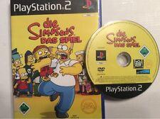PS 2 Spiel - Die Simpsons - Das Spiel (Playstation 2) (PAL) Worldwide Shipping