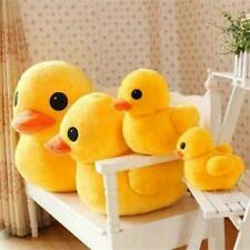 Yellow Plush Duck Soft Stuffed Animal Pillow Sofa Decor Kids Birthday Toy Gift