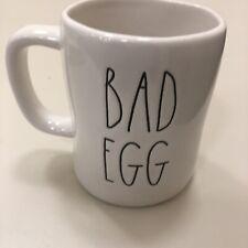 New Rae Dunn Good Egg/Bad Egg Large Letter LL Mug Easter