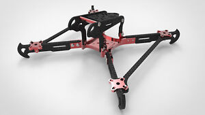 RC racer 200mm size Quadro/FPV Quadcopter Racing Drone Metallic - Carbon Frame