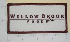 Willow Brook Foods Patch (iron-on)