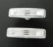 BMW 5 SERIES [E39] 1996 - 2004 NEW PAIR SIDE INDICATOR LENS CLEAR LEFT & RIGHT