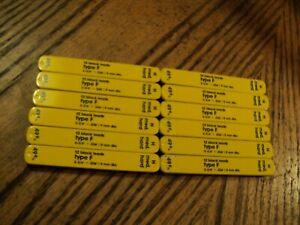 "Sheaffer Leads  Twelve Packs-12 Pcs/Pack Type F  H  2-3/4"" X .036""/0.9mm  XXXXXX"