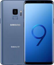 Samsung Galaxy S9 SM-G960U1 - 64GB - Factory Unlocked - Coral Blue - No Shadow