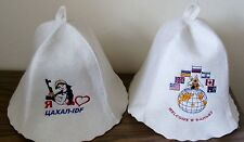 Russian sauna hats I love Israel military IDF + Peace Ukraine USA Canada GB flag