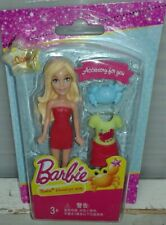 MINI BARBIE CON ACCESSORIO VESTITO CANCER