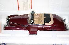 Franklin Mint Mercedes-Benz 300SC Dark red boxed & paperwork