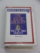 Story of Civilization The Age of Louis XIV Volume Part 1 Cassettes Unabridged