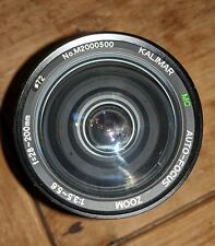 Kalimar 28-200mm F3.5-5.6 Auto-Focus Multi-Coated Zoom Lens A-Mount