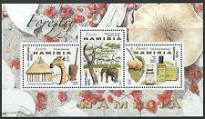 Namibie - nützlichkeit la forêt bloc 92 NEUF 2016 mi. 1546-1548