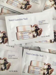 CLARINS NUTRI-LUMIERE NUIT ( 20 Sachets *2ml=40 Ml)