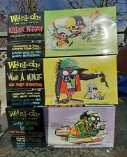 Hawk Weird-Ohs Leaky Boat Louie Model Kit and Killer McBash and Wade A. Minut