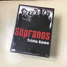 Sopranos~Trivia Board Game Hbo T.V. Series, New Sealed, Cardinal Games 2004