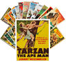 Postcards Pack [24 cards] Tarzan and Pirates Vintage Movie Posters Ads CC1083